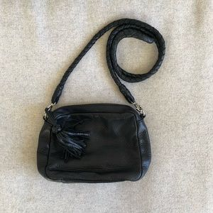 Clarks genuine leather small shoulder purse
